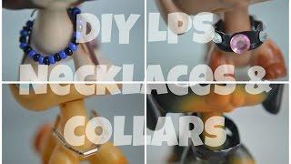 getlinkyoutube.com-DIY: LPS Necklaces & Collars
