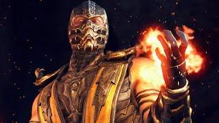 getlinkyoutube.com-Mortal Kombat X: A História do Scorpion - Playstation 4 gameplay