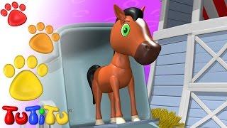 getlinkyoutube.com-TuTiTu Animals | Animal Toys for Children | Horse