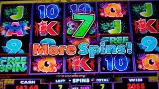 getlinkyoutube.com-Carnival in Rio Slot Machine Bonus + Retrigger - 14 Free Games with Wild Dancer Stacks - Nice Win