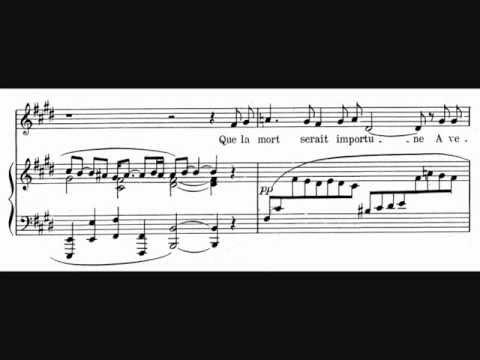 Reynaldo Hahn, A Chloris (1913)