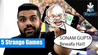 5 Strange Android Games For India - Let's Game
