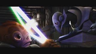 getlinkyoutube.com-Star Wars: The Clone Wars - Nahdar Vebb vs. General Grievous [1080p]