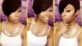 getlinkyoutube.com-Outre 100% Human Hair Duby Wig- Texture cut