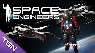 getlinkyoutube.com-Space Engineers : Star Wars Arc-170 Starfighter