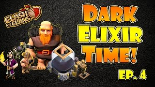 "getlinkyoutube.com-""Best Dark Elixir Farming Strategy"" TH9 GiBarch with Wizards?! - Clash of Clans DE Farming #4"