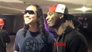Arsonal, Calicoe, And Hitman Holla Kicking It In Vegas