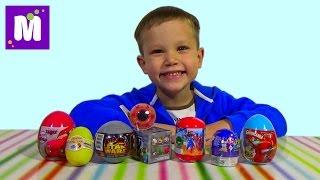 getlinkyoutube.com-Тачки Дисней Майнкрафт Самолёты мини фигурки сюрпризы с игрушками распаковка surprise unboxing