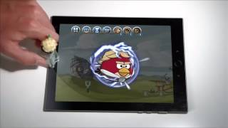 getlinkyoutube.com-Angry Birds Star Wars Telepods Star Destroyer Set
