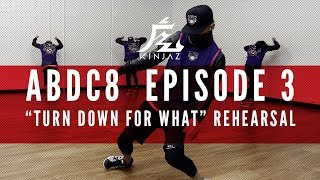 "getlinkyoutube.com-KINJAZ | ABDC Episode 3 Lil' Jon ""Turn Down For What"" Rehearsal"