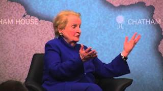 getlinkyoutube.com-The Power of Diplomacy US and EU Approaches -- Madeline Albright