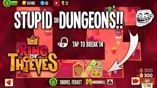 getlinkyoutube.com-Stupid Dungeons #1 | King of Thieves