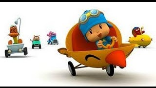 getlinkyoutube.com-3# Pocoyo Racing pato GANA por fin