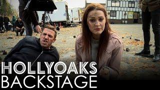getlinkyoutube.com-Hollyoaks Backstage: Warren's Wheels Goes Up in Smoke!