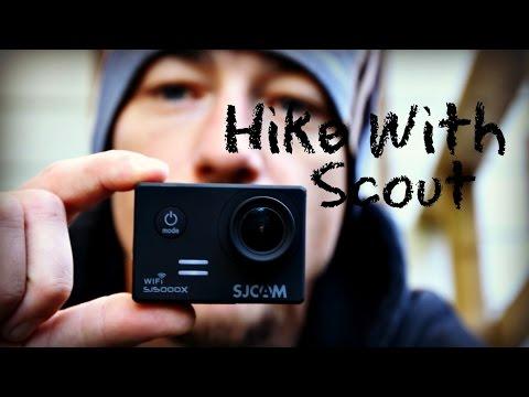 Scout's Birthday Hike/ Testing a new Camera- SJCAM