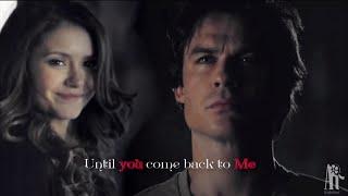 getlinkyoutube.com-Damon and Elena - Until you come back to me (7x04)