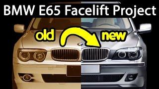 getlinkyoutube.com-How to facelift a BMW 7