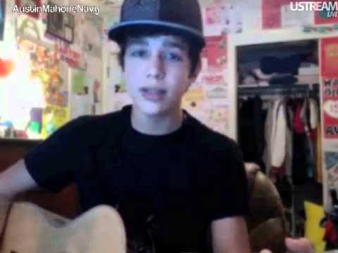 Austin Mahone USTREAM Friday February 17th 2012 Part 1 of 4 [5PM]