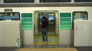getlinkyoutube.com-神奈川県内鉄道路線のホームドア 開閉シーン集