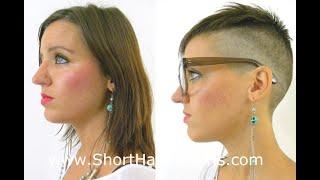 getlinkyoutube.com-Extreme Pixie Undercut Makeover www.ShortHaircutGirls.com
