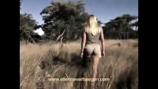 getlinkyoutube.com-Black Girls Nudes   African Girl Raised As A Bushman Walking With Lions