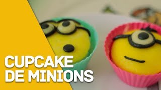 getlinkyoutube.com-Cupcake de Minions