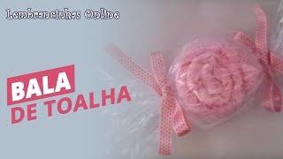 getlinkyoutube.com-Passo a passo: Lembrancinha Bala de Toalha