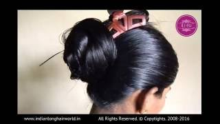 getlinkyoutube.com-ILHW Model Sultana Hair Styling after Heavy Oiling Promo - Part2