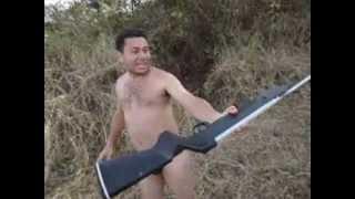 getlinkyoutube.com-matando peixe no tiro (é assim que se pesca!!!) pescando papa-terra