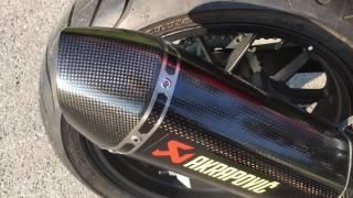getlinkyoutube.com-Akrapovic Comparison - Honda CB500F