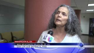 Más mexicanos salen de EE UU que los que entran al país