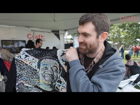 Machine Knitting a Cosby Sweater