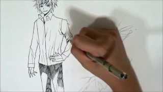 getlinkyoutube.com-การวาดเส้นการ์ตูน | สอนวาดการ์ตูนญี่ปุ่นโดยขึ้นจากฟอร์มง่ายๆและการวาดรอยยับ