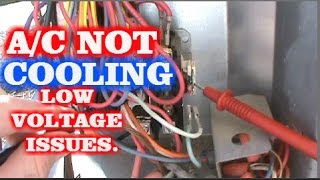 getlinkyoutube.com-HVAC NO COOLING CALL. LOW VOLTAGE ISSUES