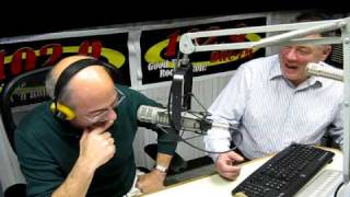 getlinkyoutube.com-Larry Wells and Ron Sedaille 102.9 WDRC FM Christmas Eve December 24, 2009
