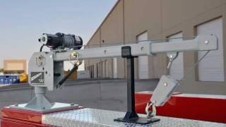 getlinkyoutube.com-New Western Mule M2000 Telescoping Boom Crane