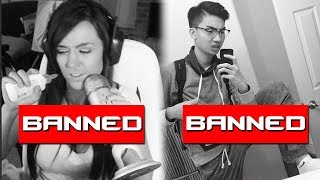 10 BANNED Twitch Streamers Who Took It WAY Too Far