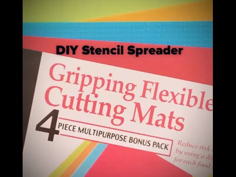 DIY Stencil Spreader