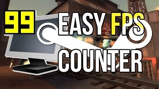 EASIEST FPS Counter - (Built into Steam) | PC Gaming Quick Tips #1