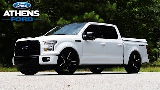 getlinkyoutube.com-Custom 600hp Supercharged 2016 Ford F150 done by Athens AutoSports