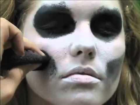 Girl Skeleton Face Paint to Skeleton Face Paint Easy 5