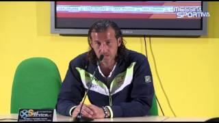 Messina-Salernitana 4-2. Corona parla della sua doppietta e dei playout