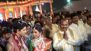 getlinkyoutube.com-MINISTER PRATHIPATI PULLA RAO DAUGHTER  MARRIAGE VISUALS