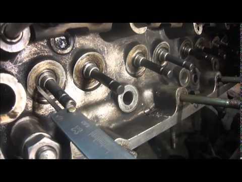 Это не учитывают при ремонте ГБЦ. Упругость пружины клапана.