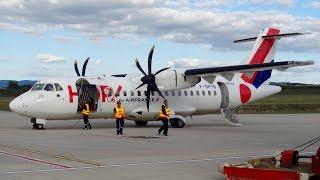 getlinkyoutube.com-Preparativos y despegue ATR 42-500 de Hop! (F-GPYB)