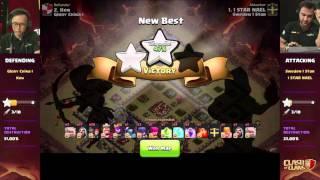 getlinkyoutube.com-Clan War Finals: Sweden 1 Star vs. Glory China I