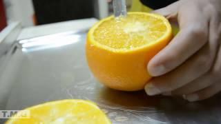 عمل اركيلة برتقال طبيعي