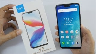 Vivo V9 Selfie Camera Smartphone Unboxing & Overview