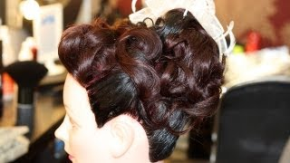 getlinkyoutube.com-Bridal Hair Styling