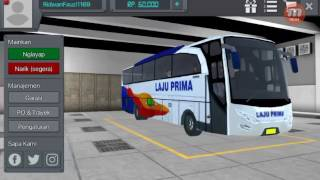Bus Simulator Indonesia (BUSSID) Android - Bus Laju Prima